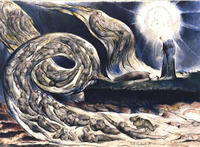 William Blake Aquarell